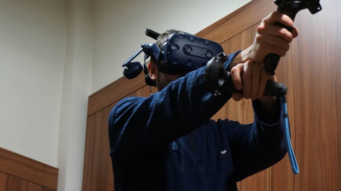 HTC VIVE Pro Wireless teszt - kötetlen VR-hentelés kép