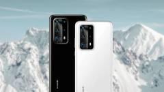 5G-s lesz a Huawei P40 és P40 Pro kép