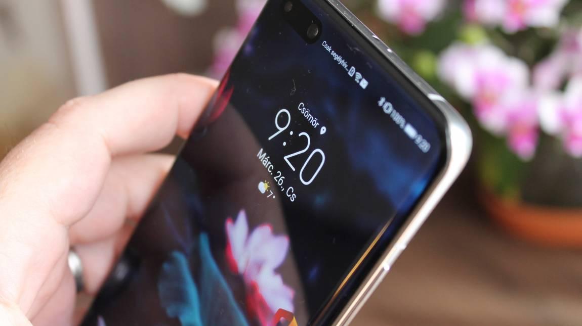 Huawei P40 Pro teszt – nagyon magasan és mélyen kép