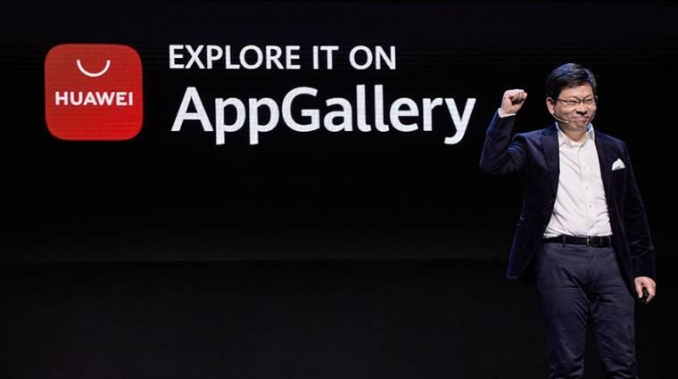 A Huawei a saját alkalmazásboltjában akarja látni a Google appjait kép