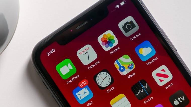 Súlyos biztonsági rést fedeztek fel az iPhone-okban kép