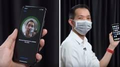 Hamarosan maszkban is feloldhatod az iPhone-od kép