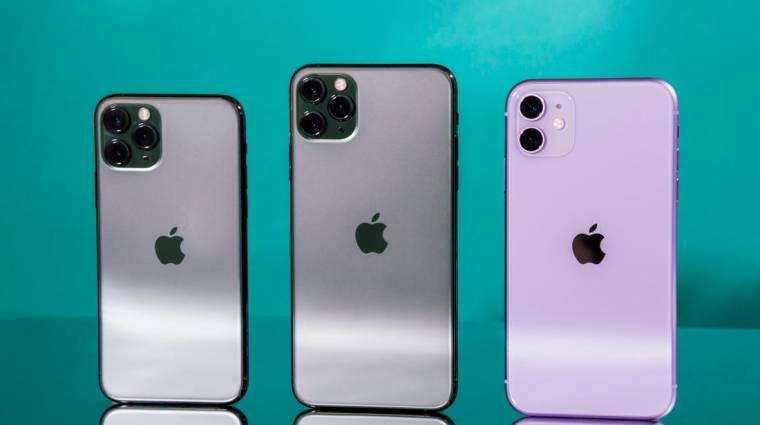 Akár négy iPhone 12 is jöhet idén kép