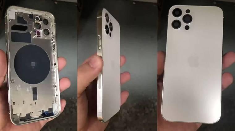 Állítólag ilyen lesz az iPhone 12 Pro készülékháza kép