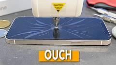 Újabb videón látható, hogy mennyire ellenálló az iPhone 12 kijelzője kép