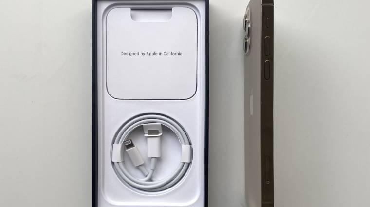 Az Apple már a töltőkábelt is kivenné az iPhone-ok dobozaiból kép