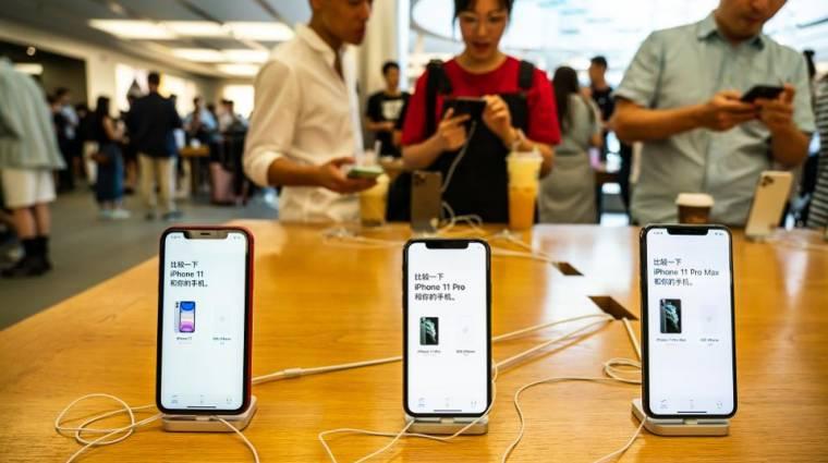 Az iPhone-gyártást is megbéníthatja a koronavírus kép