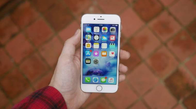 Az utolsó pillanatban nevet váltott az iPhone 9 kép