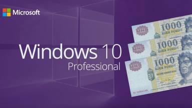 Windows 10 legálisan, alig több, mint 3000 forintért? Bizony, van ilyen! kép