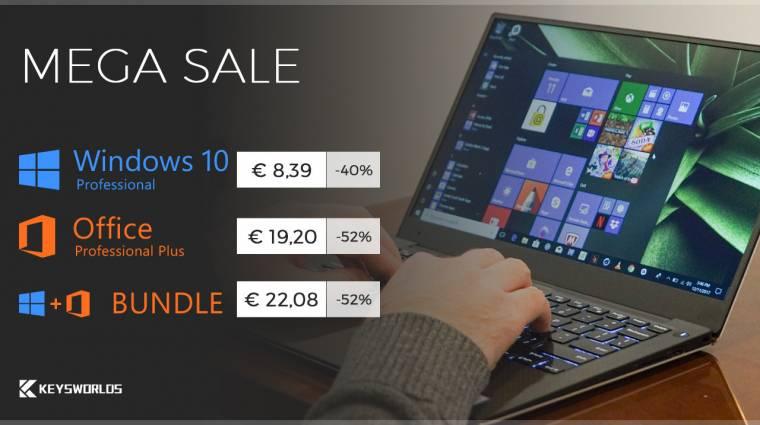 Várd az őszt a legolcsóbb Windows 10 és Office akcióval! kép