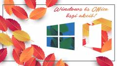 Frissíts most a legolcsóbb Windows 10-re, amíg még tart az őszi akció! kép