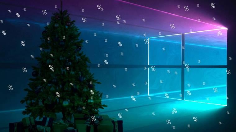 Windows 10 és Office karácsonyra, akár 93% engedménnyel! kép