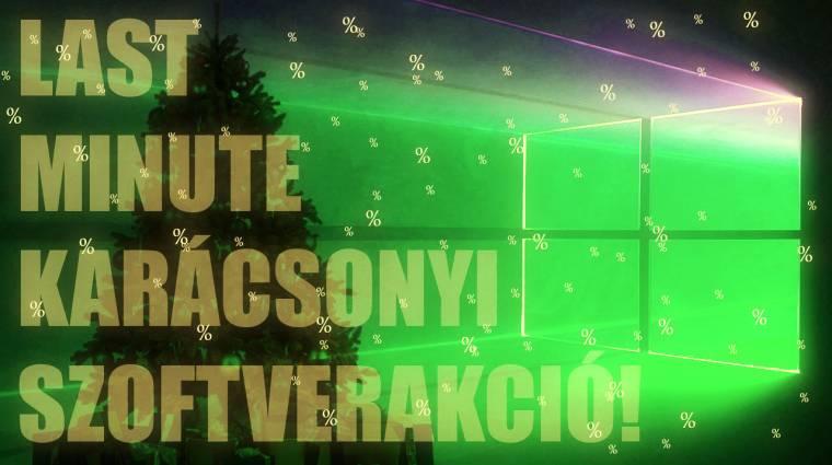 Ne maradj le a karácsonyi Windows és Office akcióról! kép