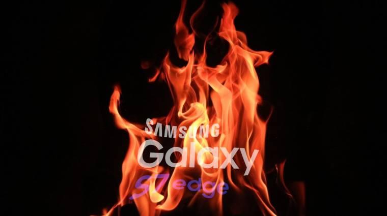Megint felrobbant egy Samsung Galaxy mobil kép