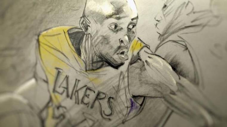 Már nézhető online Kobe Bryant Oscar-díjas kisfilmje bevezetőkép