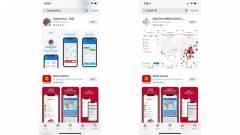 Kukába vágja a koronavírusról szóló, tévinformációs appokat az Apple és a Google kép