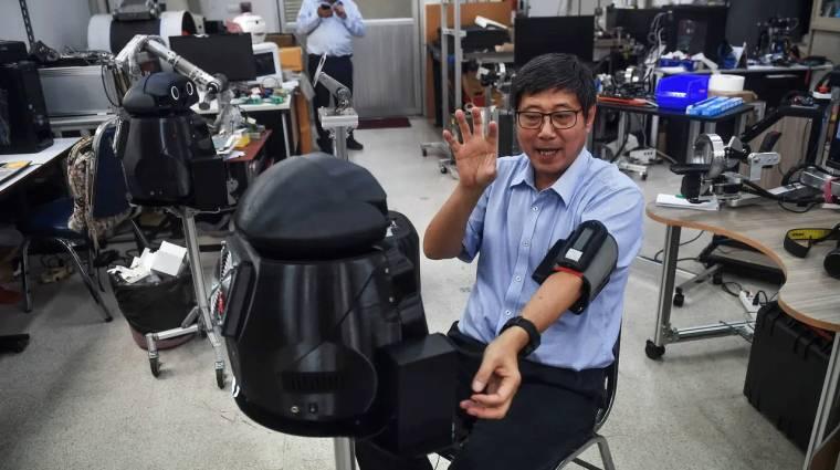 Van, ahol ninja-robotok figyelnek a koronavírusos betegekre kép