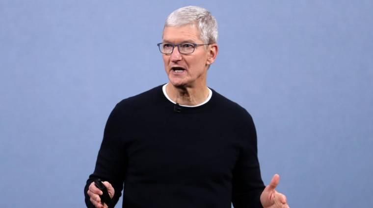 9 millió arcmaszkkal száll be a koronavírus elleni harcba az Apple kép