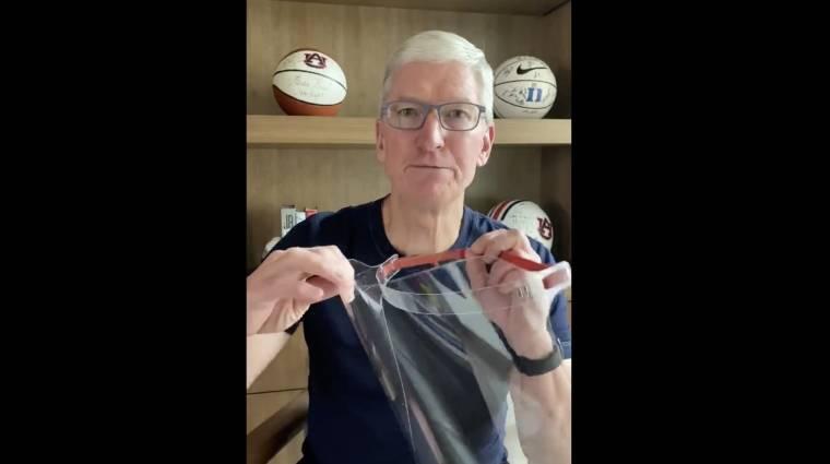 Arcmaszkokkal és arcpajzsokkal segít az Apple kép
