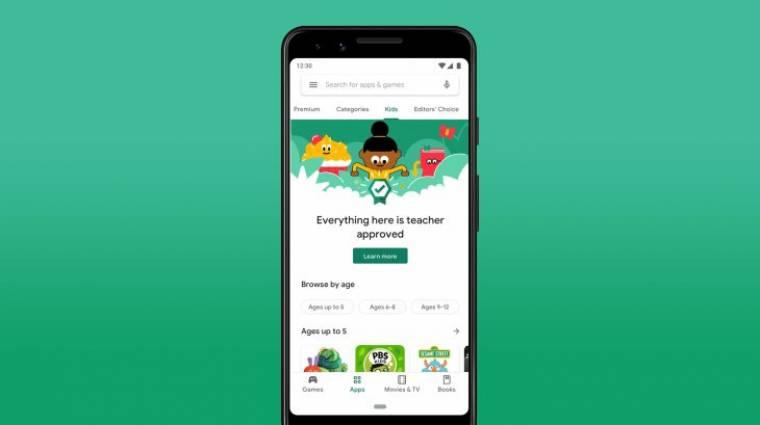 A Play Áruházba hozza a Google a tanárok által ajánlott appokat kép
