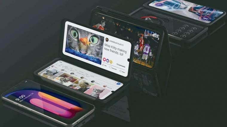 Meggondolatlan videóval reklámozta a V60 ThinQ-t az LG kép