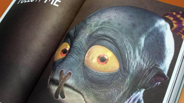 Több száz oldalon mutatja be az Oddworld világát az új művészeti albumban bevezetőkép
