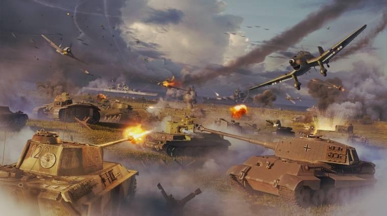 Kiderült, hogy mikor vonulnak hadba a Panzer Corps 2 harckocsijai bevezetőkép
