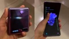 Kiszivárgott videón a Samsung Galaxy Z Flip kép
