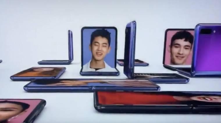 Az Oscar-gálán villantotta meg a Galaxy Z Flipet a Samsung kép