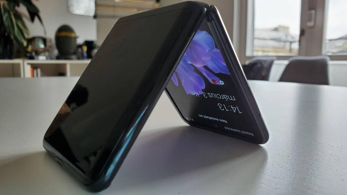 Samsung Galaxy Z Flip teszt - valódi ékszerdoboz kép