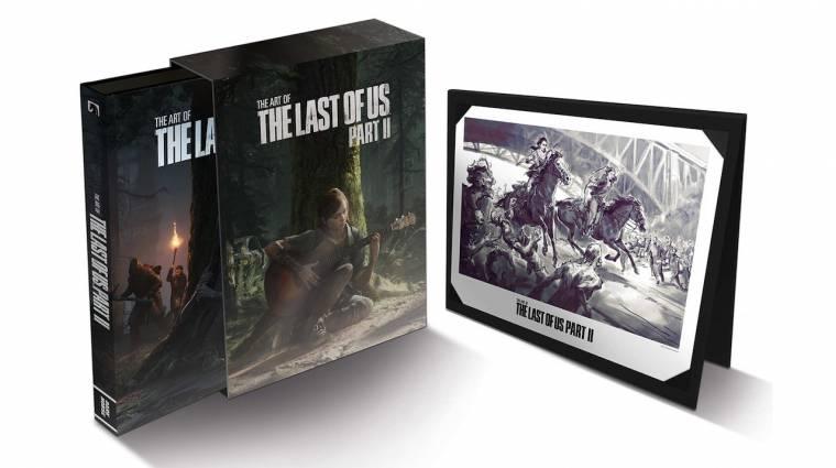 Olyan gyönyörű a The Last of Us Part II, hogy természetesen artbook is jön mellé bevezetőkép