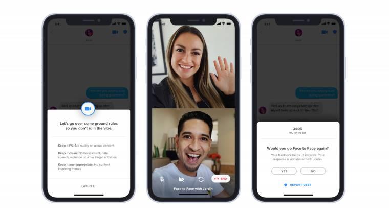 A Tinder randiapp már teszteli a videós chatelést kép