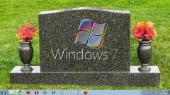 Ma temetik a Windows 7-et: emlékezzünk rá szépen! kép