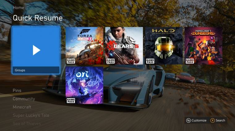 Itt a májusi Xbox Series X|S frissítés, fókuszban a Quick Resume funkcióval bevezetőkép
