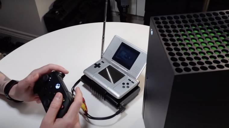 Lehet Nintendo DS-en Xbox Series X-es játékokat játszani, de semmi értelme kép