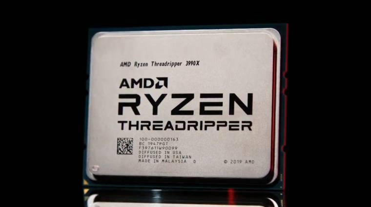 Több mint 1,5 millió forintba kerül a Ryzen Threadripper 3990X kép