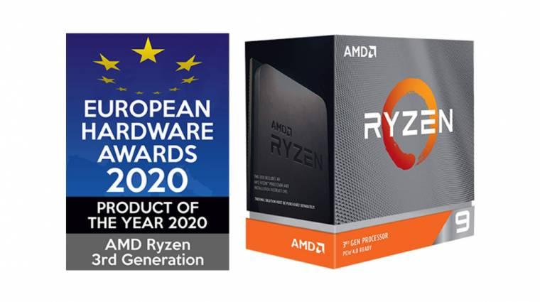 Európai hardverdíjakat kaptak az AMD Ryzen processzorok kép