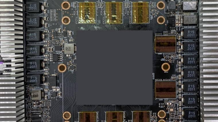 Kiszivárgott képeken látható egy Radeon RX 6000 grafikus vezérlő PCB-je kép