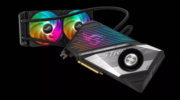 Vízhűtéssel támad az Asus ROG Strix LC Radeon RX 6900 XT kép