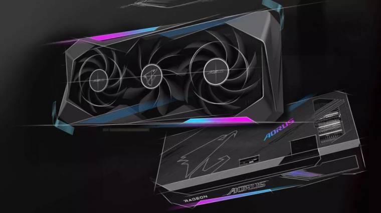 Itt vannak a Gigabyte erősebb és drágább Aorus Radeon RX 6800-as grafikus vezérlői kép