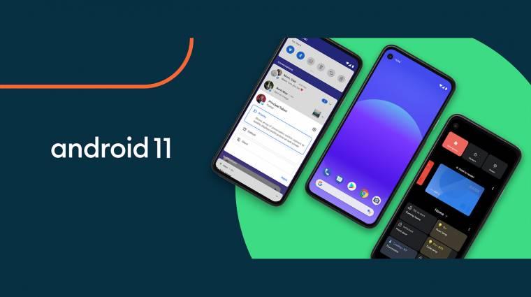 Megérkezett az Android 11 kép