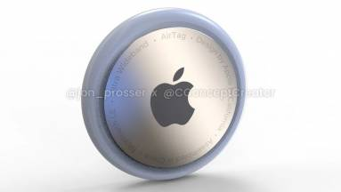 Így néz ki az AirTags követő - az Apple mai nagy rendezvényén debütálhat kép