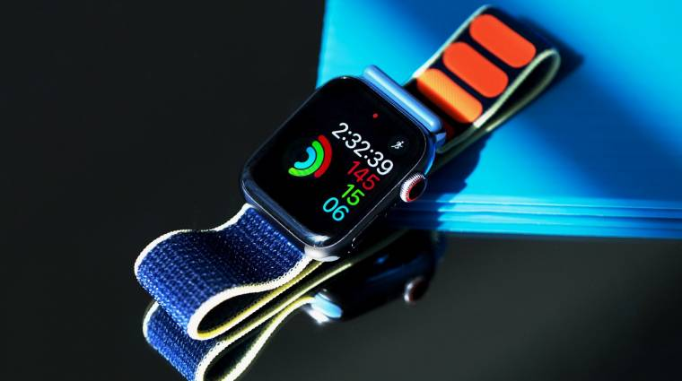 Véroxigénszintet is mérhet az Apple Watch Series 6 kép
