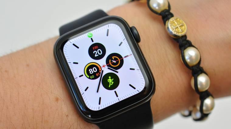 Kifogyóban az Apple Watch Series 5, jön a következő okosóra kép