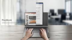 Ilyen a forgatható kijelzős laptop kép