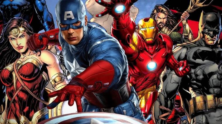 A szuperhősfilmek fénykorában lehúzhatja a rolót a DC és a Marvel Comics is? bevezetőkép