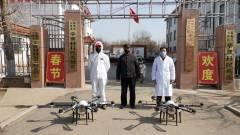 Drónokkal a koronavírus ellen kép