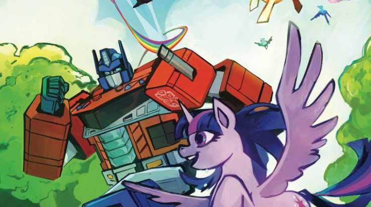 Közös történetet kap a Transformers és az Én kicsi pónim kép
