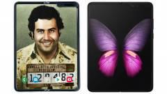 Átverés lehet a Samsungot másoló új, összehajtható Escobar okostelefon kép