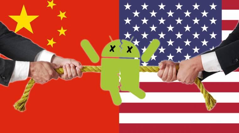Visszafelé sült el a Google-féle Huawei szigor kép